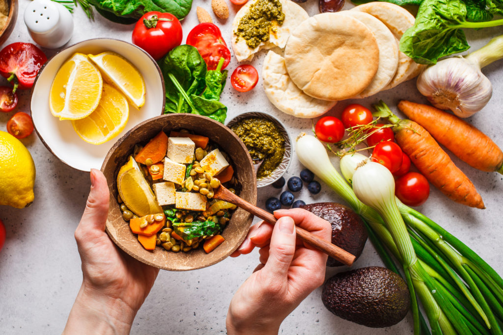緑黄色野菜と果物